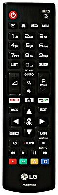 NEW Genuine LG AKB75095308 TV Remote For 32LJ610V 49UJ634V 55UJ6307 65UJ634V...