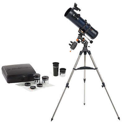Celestron AstroMaster 130EQ with Eyepiece Kit