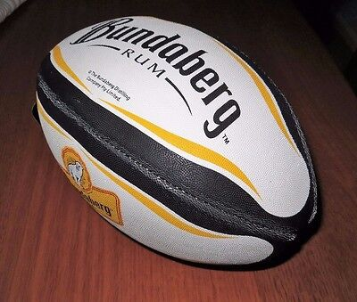 Bundaberg Rum BUNDY NRL Rugby League Ball  - OFFICIAL MERCHANDISE