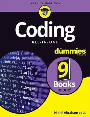 Coding All-in-One For Dummies - Read Full Description