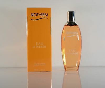BIOTHERM  Eau D`Energie  Damenduft EdT Eau de Toilette Spray 100 ml Neu OVP