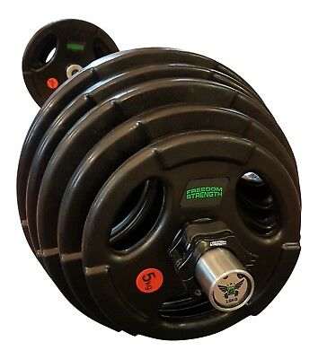 Olympic Tri Grip Rubber Weight Plates , strength , weights , lifting
