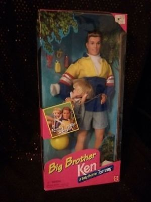 Mattel Big Brother Ken & Baby Brother Tommy Dolls in the box