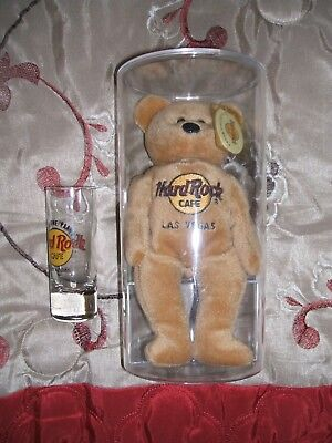 "Hard Rock Beanie Baby MWMT's ""ISAAC BEARA"" By Hard Rock International ULTRA RARE"