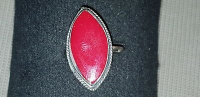 Very Pretty Vintage Islamic finger ring very wearable antique L49a