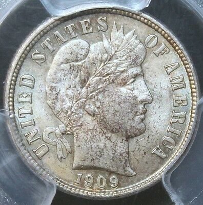 #~☆SUPER RARE!☆~ MS-65 1909-D Barber Dime PCGS One of only 2 PCGS on Ebay