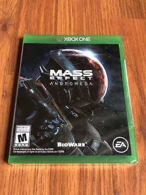 Mass Effect: Andromeda (Microsoft Xbox One, 2017) NEW!