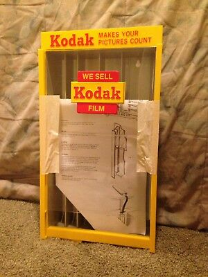 SMALL KODAK FILM DISPLAY CASE Vintage Never used