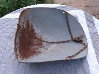 Antique Early Century Hanging Scale Pan General Store Farm Hardware