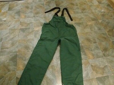 mens xl chainsaw trousers bib and braces