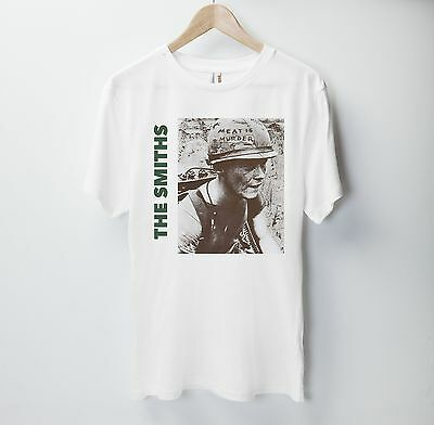 The Smiths T Shirt Top English Rock Band Meat Is Murder 1985 Morrissey Gift