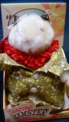 """Collectors Dancing Hamster """"Jimbo"""" Dances to """"Limbo Rock"""" by Gemmy New"""