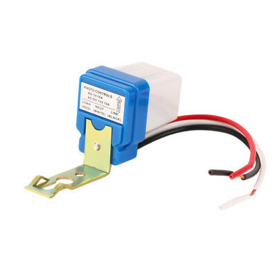 1pcs12V 10A Auto AC DC On Off Photocell Street Light Photoswitch Sensor Switch