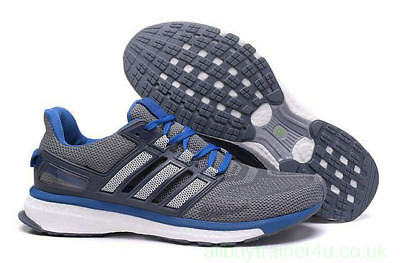 Adidas Energy Boost 3 shoes In Grey/Blue/White |UK 10.5 | FR 45.5 | US 11 | NEW