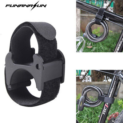 Bike Flashlight Strap Mount Led Tourch Universal Holder Helmet Bicycle Mountain