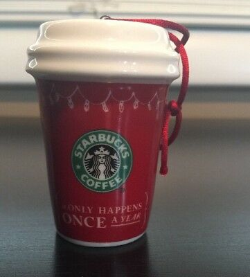 Starbucks 2005 Holiday stocking ornament excellent condition Coffee