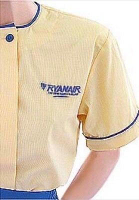 Ryanair Female Airline Uniform Blouse