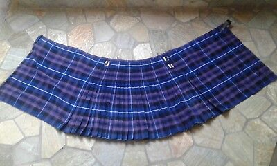 Schottischer Kilt Schottenrock 8yds Gr.38 Honour of Scotland / Pride of Scotland