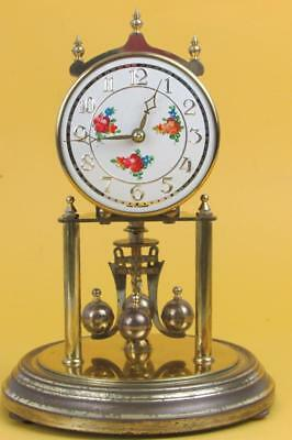 400 DAY ANNIVERSARY CLOCK good working order K&O roses to the dial