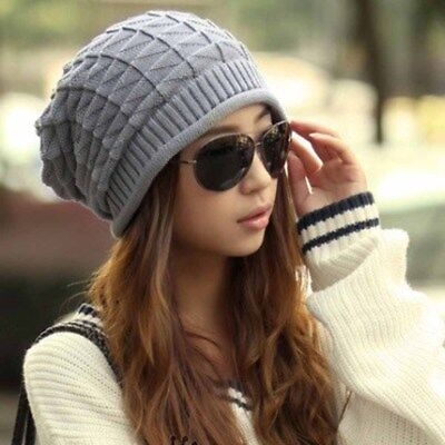 New Arrival Fashion Handmade Knitting Hats Female Winter Warm Crochet Caps Skull