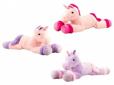 xxl einhorn unicorn kuscheltier pink 115 cm neu unbespielt. Black Bedroom Furniture Sets. Home Design Ideas