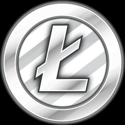 .10 Litecoin LTC Paper Wallet Pre-Loaded Shipped via USPS with Tracking
