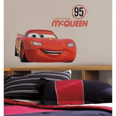 cars Number 95 Peel & Stick Giant Wall Decals - Decor Wall Decor Nursery Baby  <