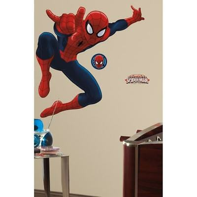 spider-Man Peel-&-Stick Giant Wall Decal - Decor Wall Decor Nursery Baby  </font