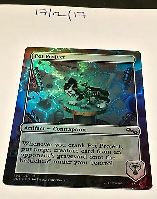 Magic the Gathering MTG Pet Project x1 Mythic Rare FOIL Card NM/M Unstable