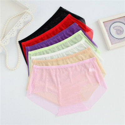 2230639fb4e Full Transparent Women Super Sexy Underwear L XL 3XL Plus Size Panties  Ladies Br