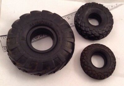 Lot of 3 Vintage Goodyear Miniature Tires