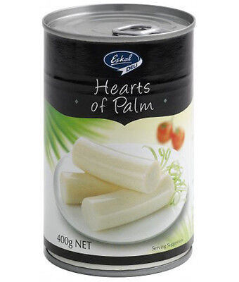 Whole Hearts of Palm 400g in tin, Gluten Free, Kosher for Passover