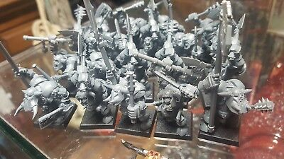 19 Warhammer Orc and Goblins Black Orcs