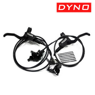 HAYES DYNO SPORT Disc Brake Set Hydraulic Front & Rear Mountain Bike MTB Black
