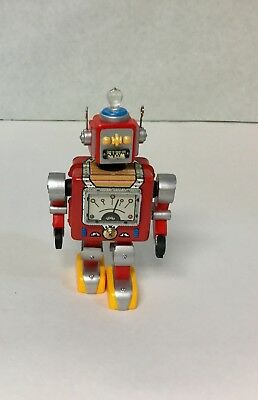 "Hallmark~ ""Robot Parade"" ~Tin~1st In Series~Christmas Collectable Ornament~2000~"
