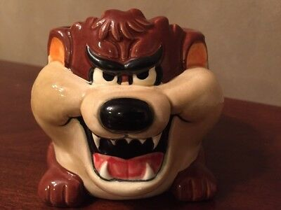 Vtg Christmas Vacation Tazmanian Taz Tasmanian Devil Mug Griswold 1989 Applause