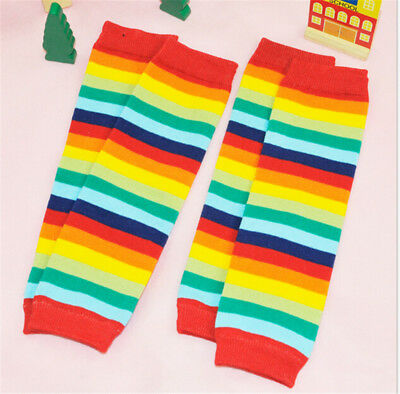 Kids Baby Girls Boys Leg Warmers Cover Tights Toddler Socks Children Colorful