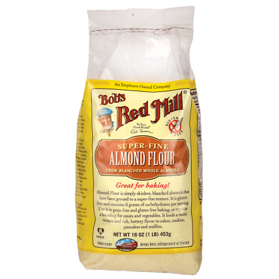 Bob's Red Mill Super-Fine Almond Flour 16 oz (1 lb) (453 g) Pkg