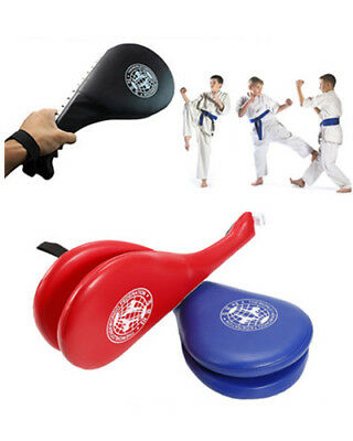 Double Kick Pads Target Tae Kwon Do Karate Kickboxing MMA Training Taekwondo