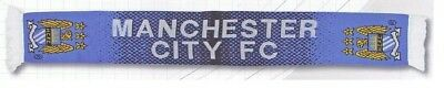 Manchester City Footbal Team  Jacquard Scarf * New With Tags