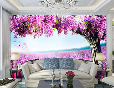 Coherent Vast Field 3D Full Wall Mural Photo Wallpaper Printing Home Kids Decor