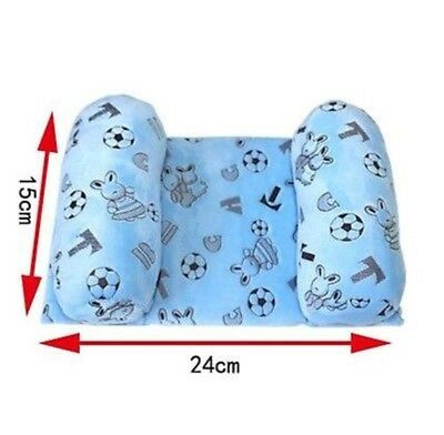 Baby Toddler Infant Safe Anti Roll Pillow Sleep Head Positioner Anti-Rollover