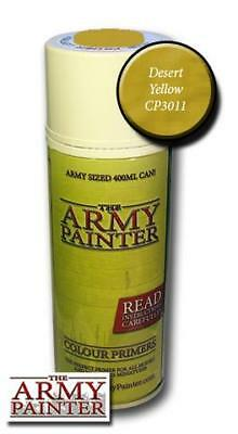 The Army Painter: Primer - Desert Yellow (Grundierung Wüstengelb)