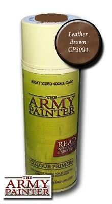 The Army Painter: Primer - Leather Brown Spray Grundierung (Lederbraun)