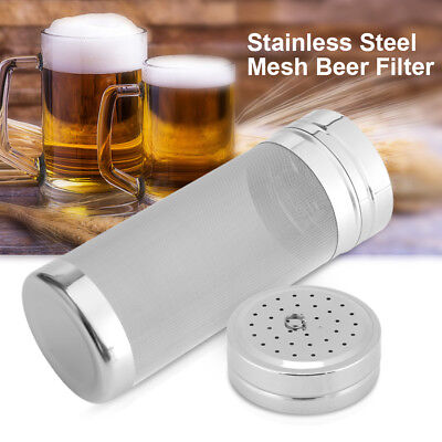 300 Micron Stainless Steel Mesh Beer Filter for Homemade Brew Coffee Dry Hopper