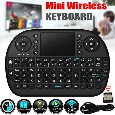 2.4G Mini Wireless Keyboard Mouse Touch pad For Smart TV Box Netbook PC