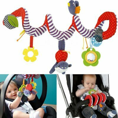 Baby Activity Spiral Toy for Pushchair Pram Stroller Car Seat Cot Bed Activity