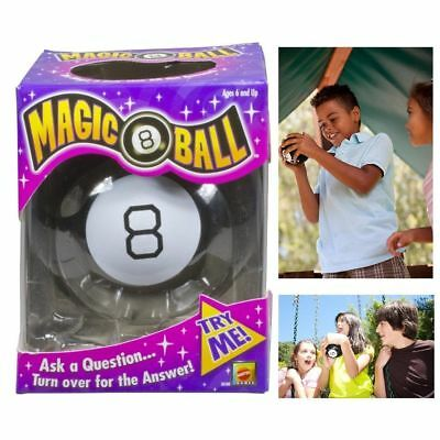 New Magic 8 Eight Ball Answers Mattel Lucky Billiard Toy Vintage Fun Original
