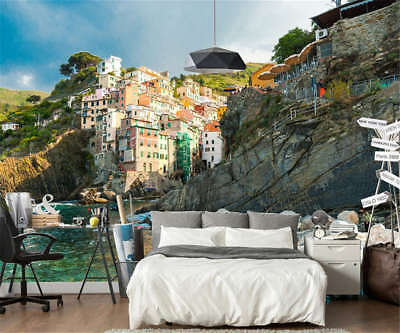 Steep Tall Cliff 3D Full Wall Mural Photo Wallpaper Printing Home Kids Decor