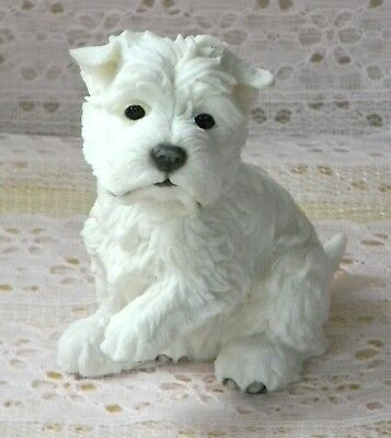 New IB Country Artists WEST HIGHLAND TERRIER WESTIE Puppy Figurine 03459 Paw Up
